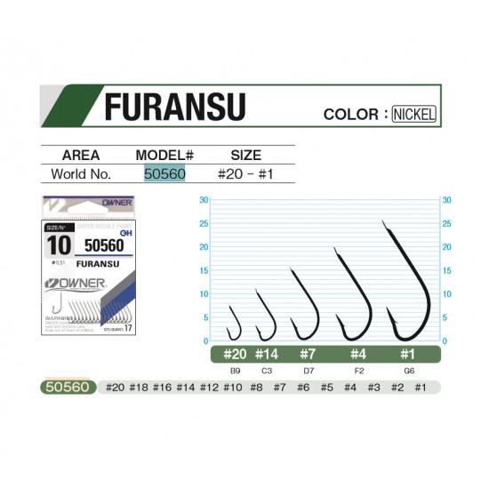 ANZUELO OWNER FURANSU 50560 N